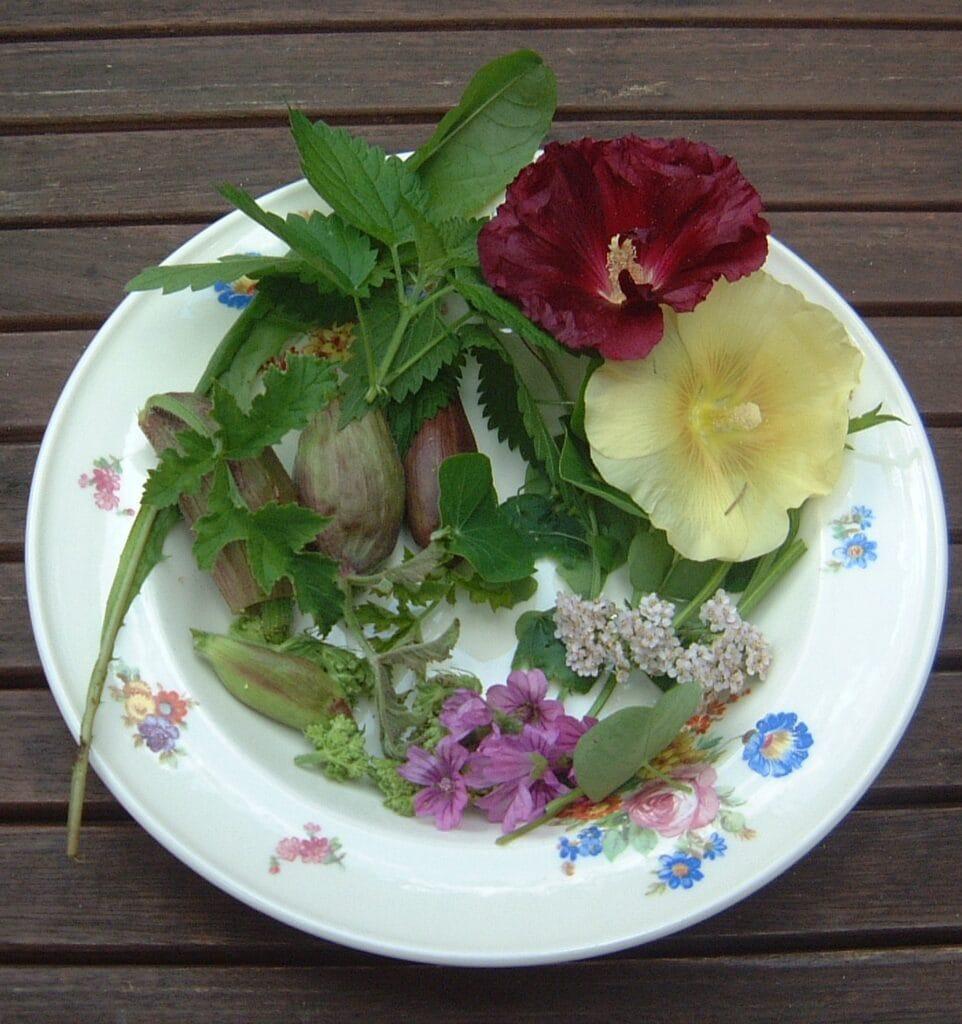 geperste salade